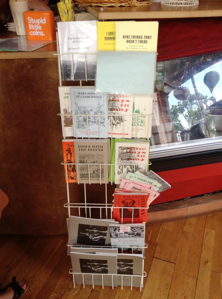Local literature, the Electric Elephant Cafe - kenningtonrunoff.com