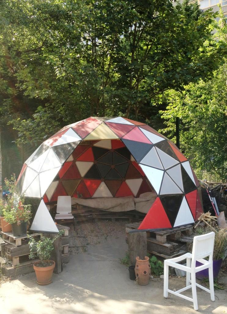 The Mobile Gardeners' Park geodesic dome - kenningtonrunoff.com