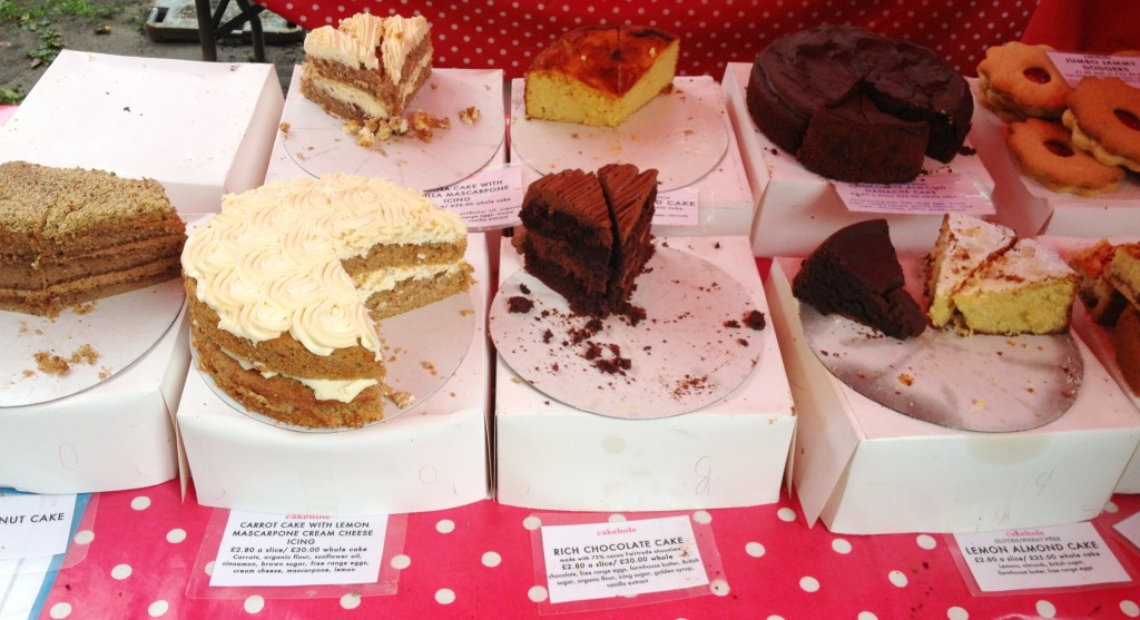 Oval Farmers Market - cakes - kenningtonrunoff.com
