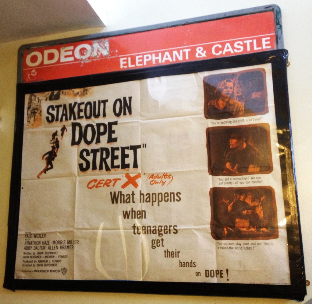Stakeout on Dope Street poster - The Cinema Museum - kenningtonrunoff.com