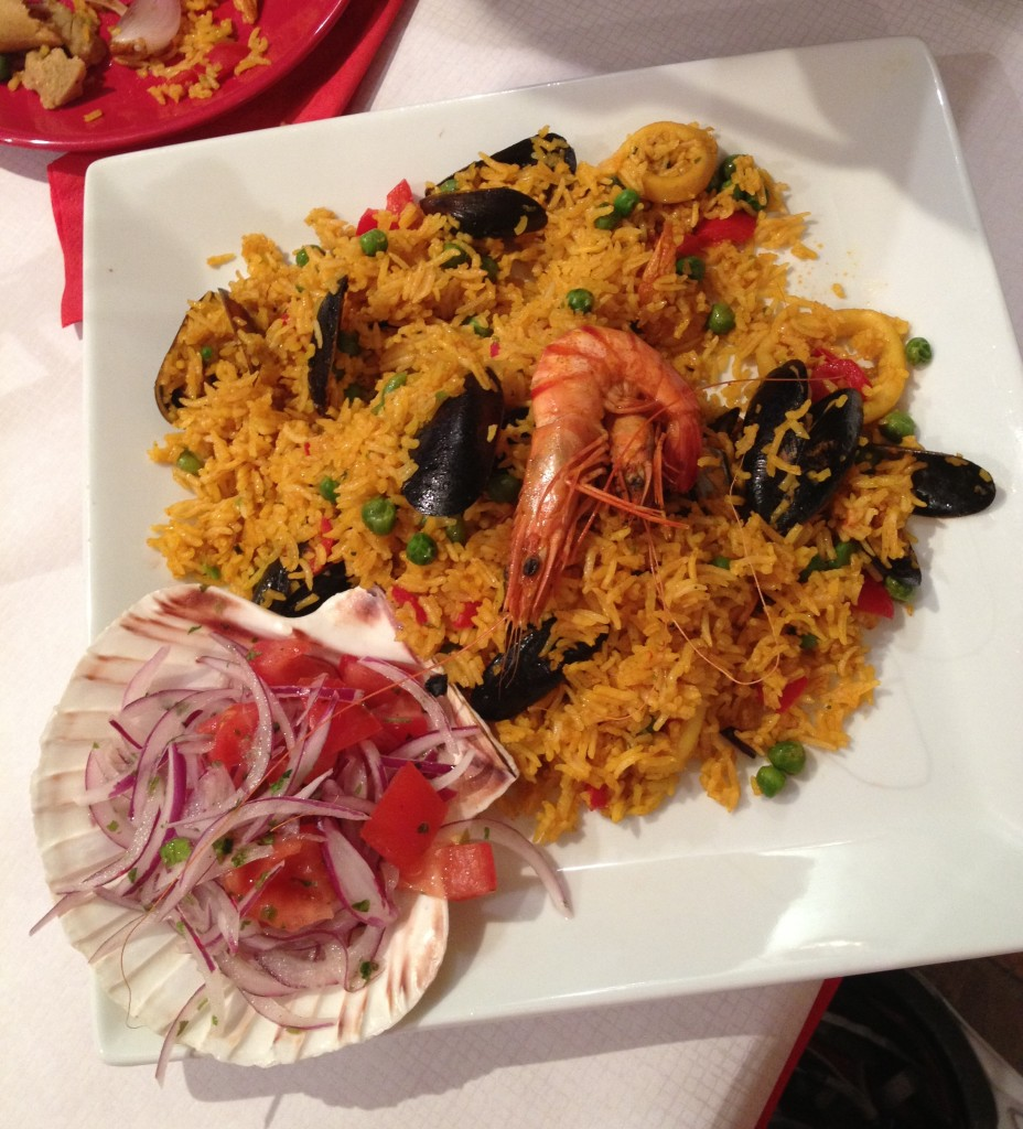 paella - Emanuel Peruvian restaurant - kenningtonrunoff.com