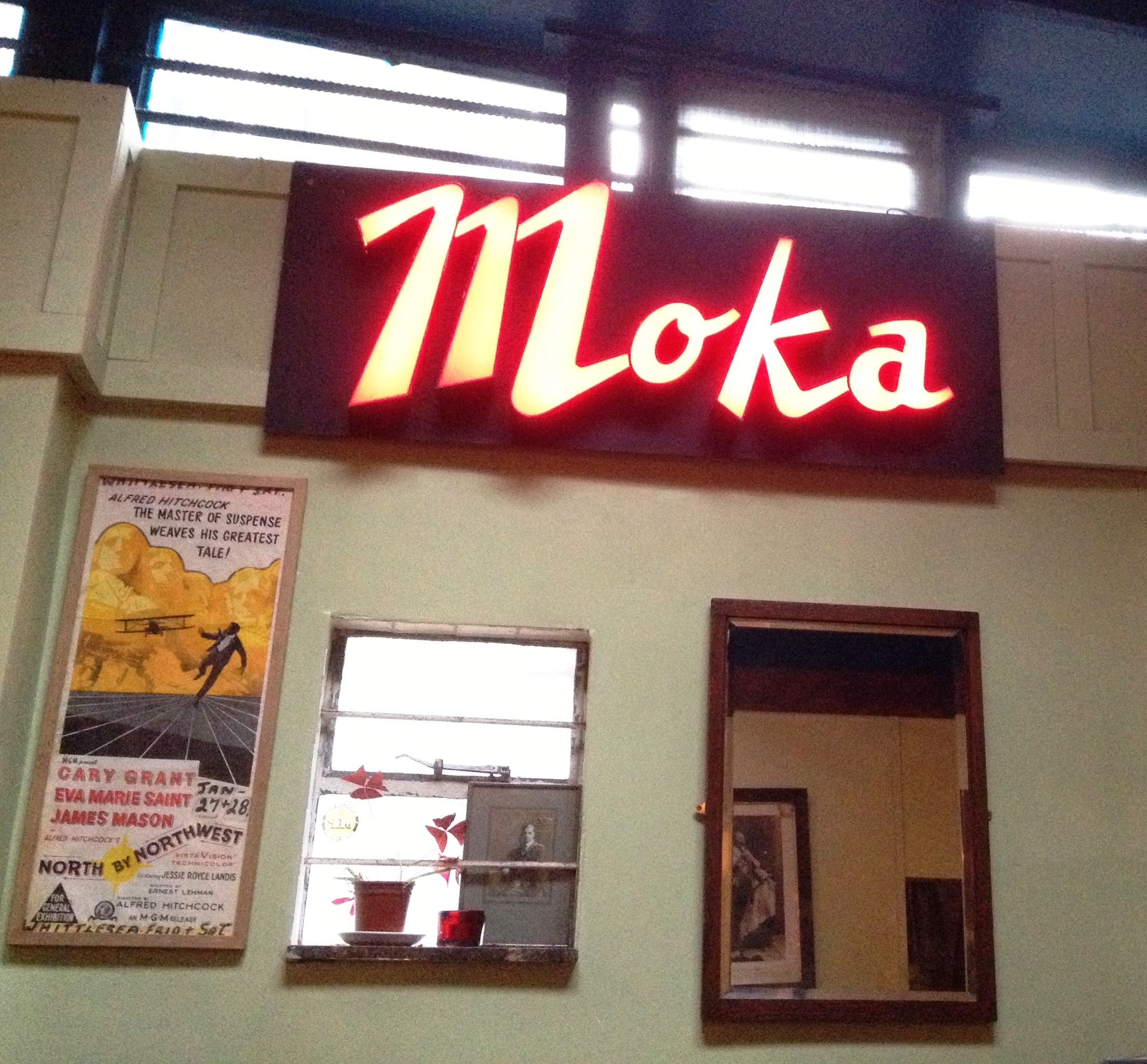Moka sign in Cable Cafe & Bar - kenningtonrunoff.com