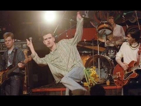 Morrissey dancing