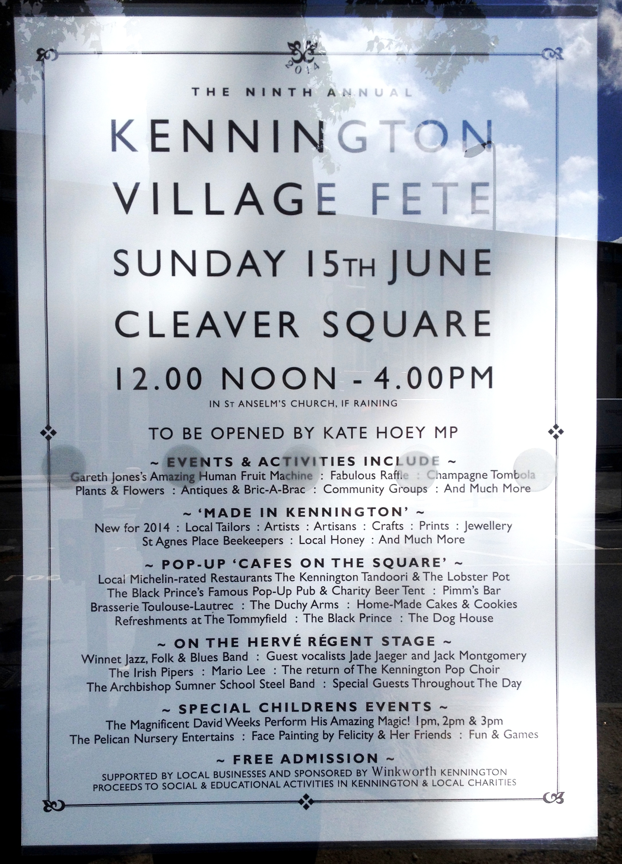 The ninth annual Kennington Village Fete - kenningtonrunoff.com