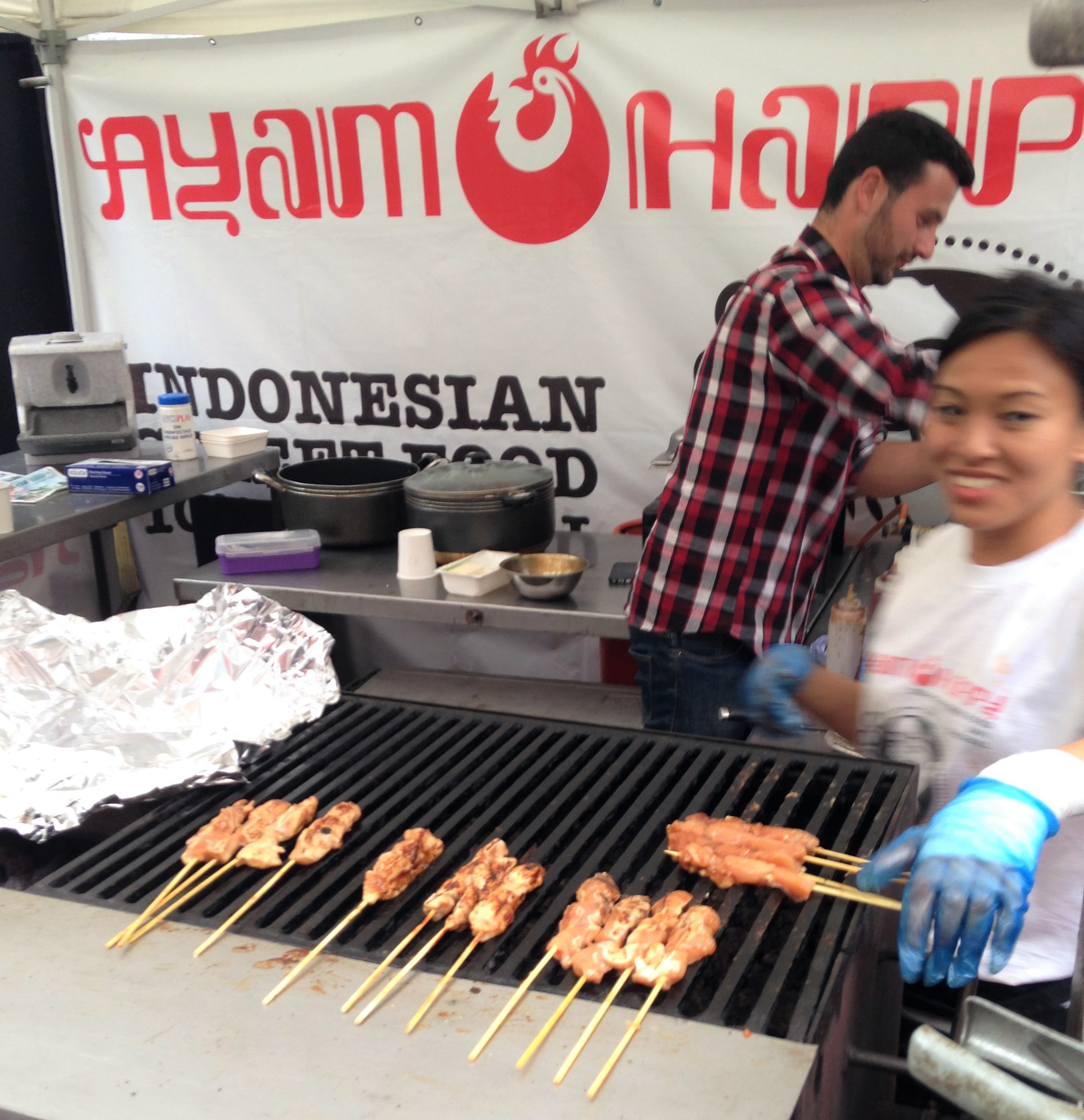 Ayam Happy Indonesian Street Food at Vauxhall Street Food Market - kenningtonrunoff.com
