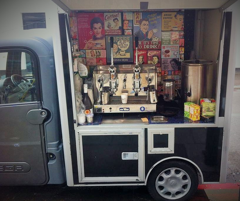 Sticky Paws Coffee van
