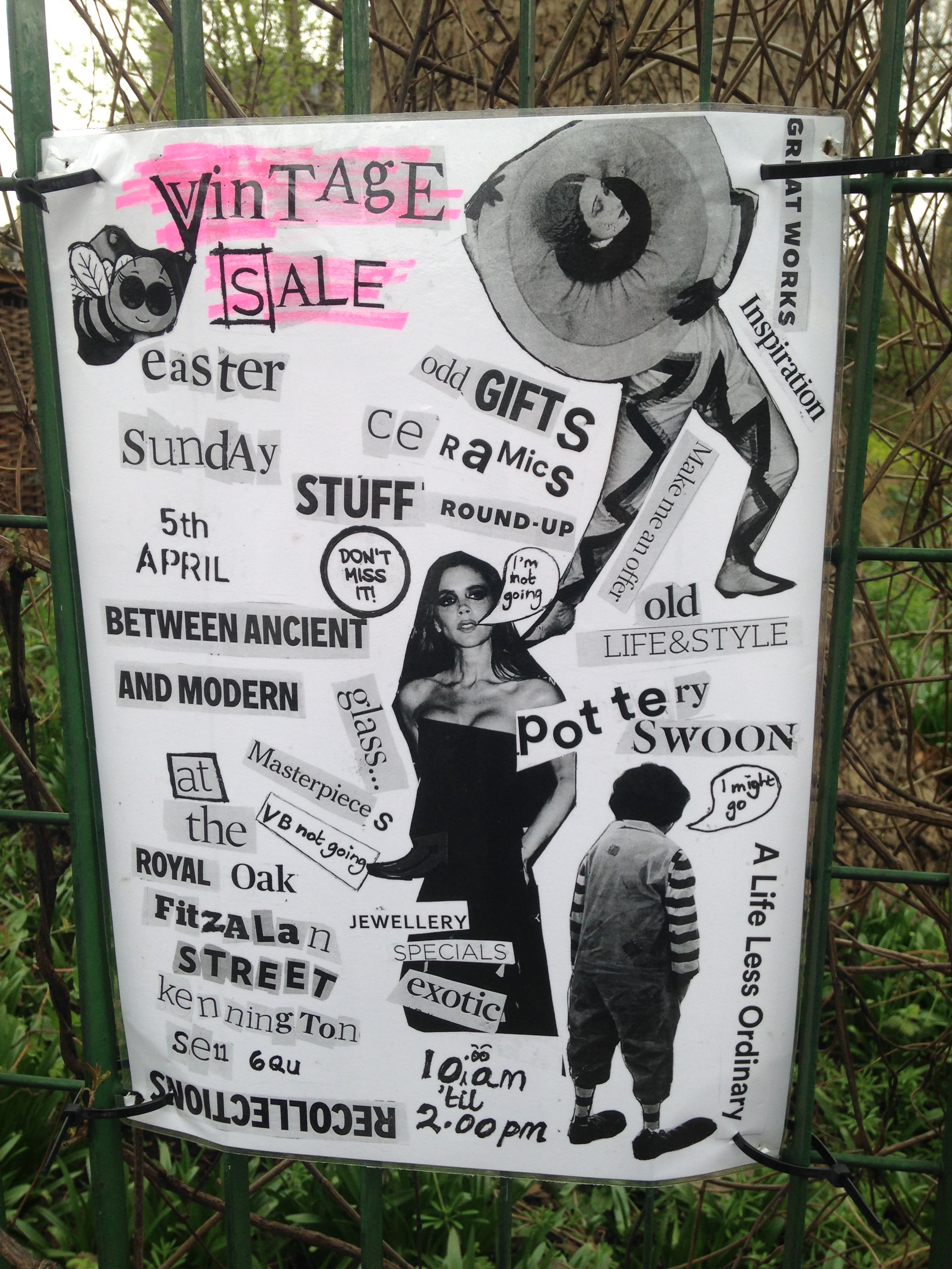Royal Oak vintage sale poster - kenningtonrunoff.com
