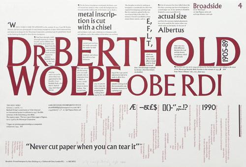Dr Berthold Wolpe print