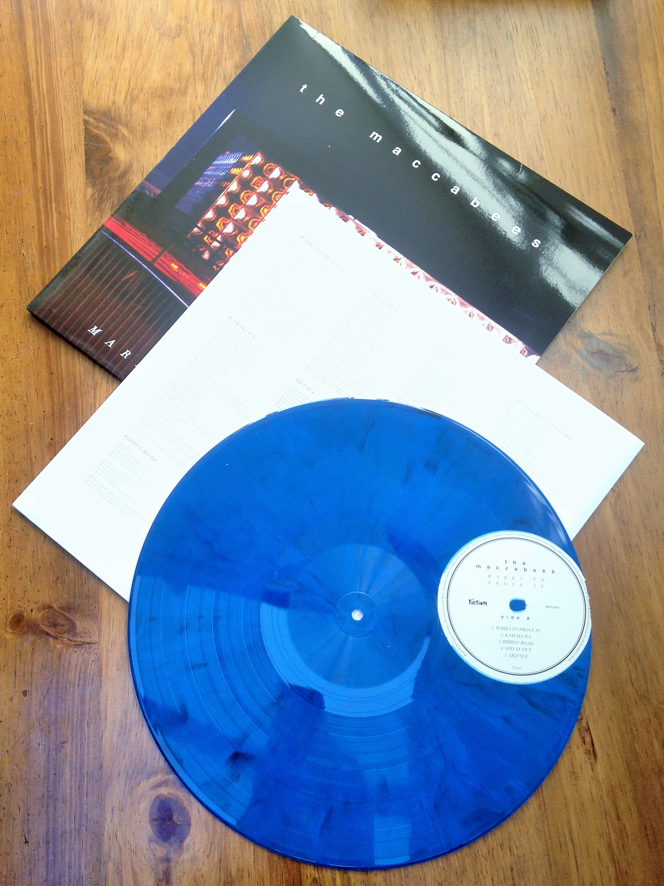 Maccabees limited edition vinyl - kenningtonrunoff.com
