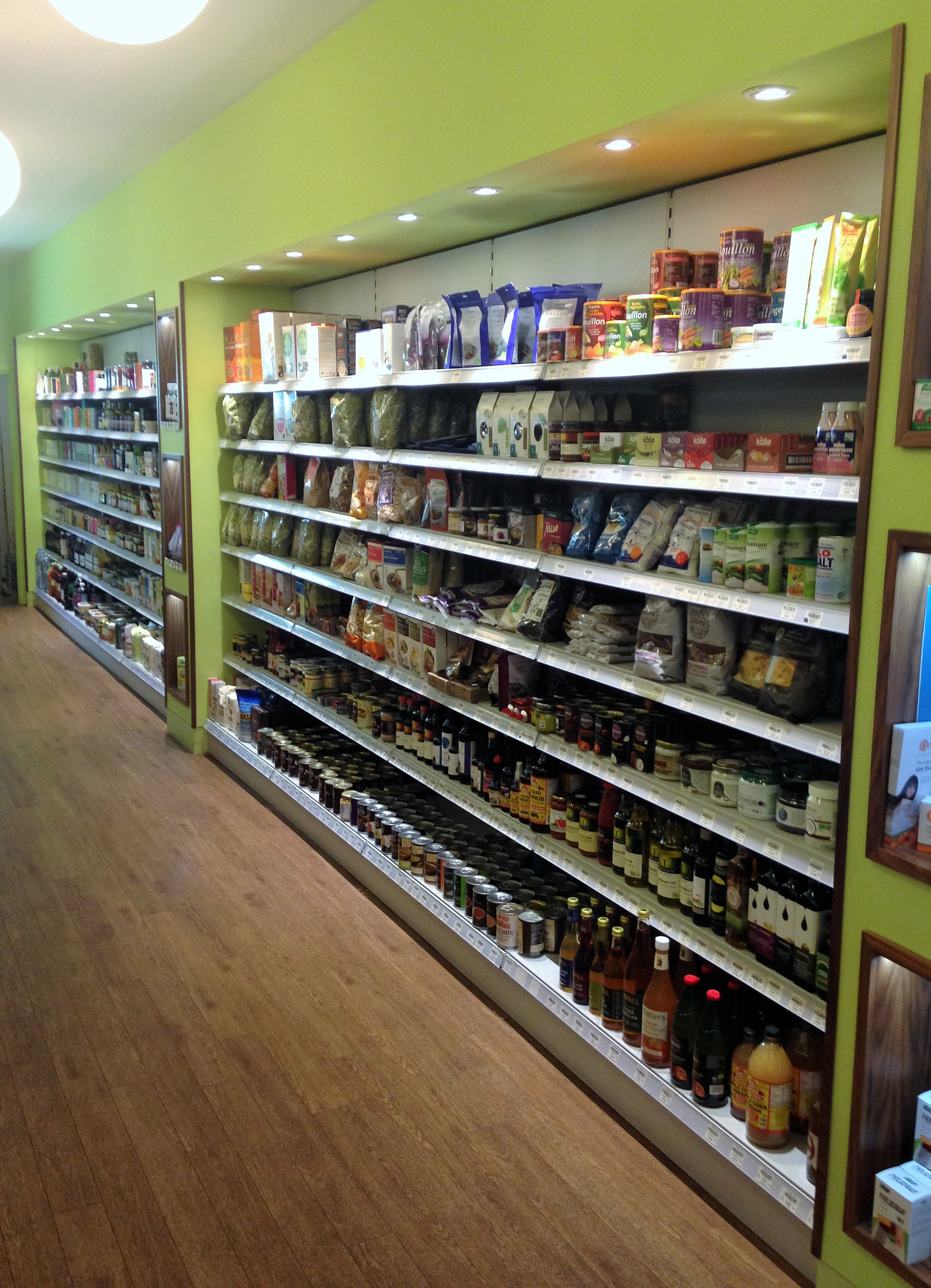 G Baldwin & Co health foods shelving - kenningtonrunoff.com