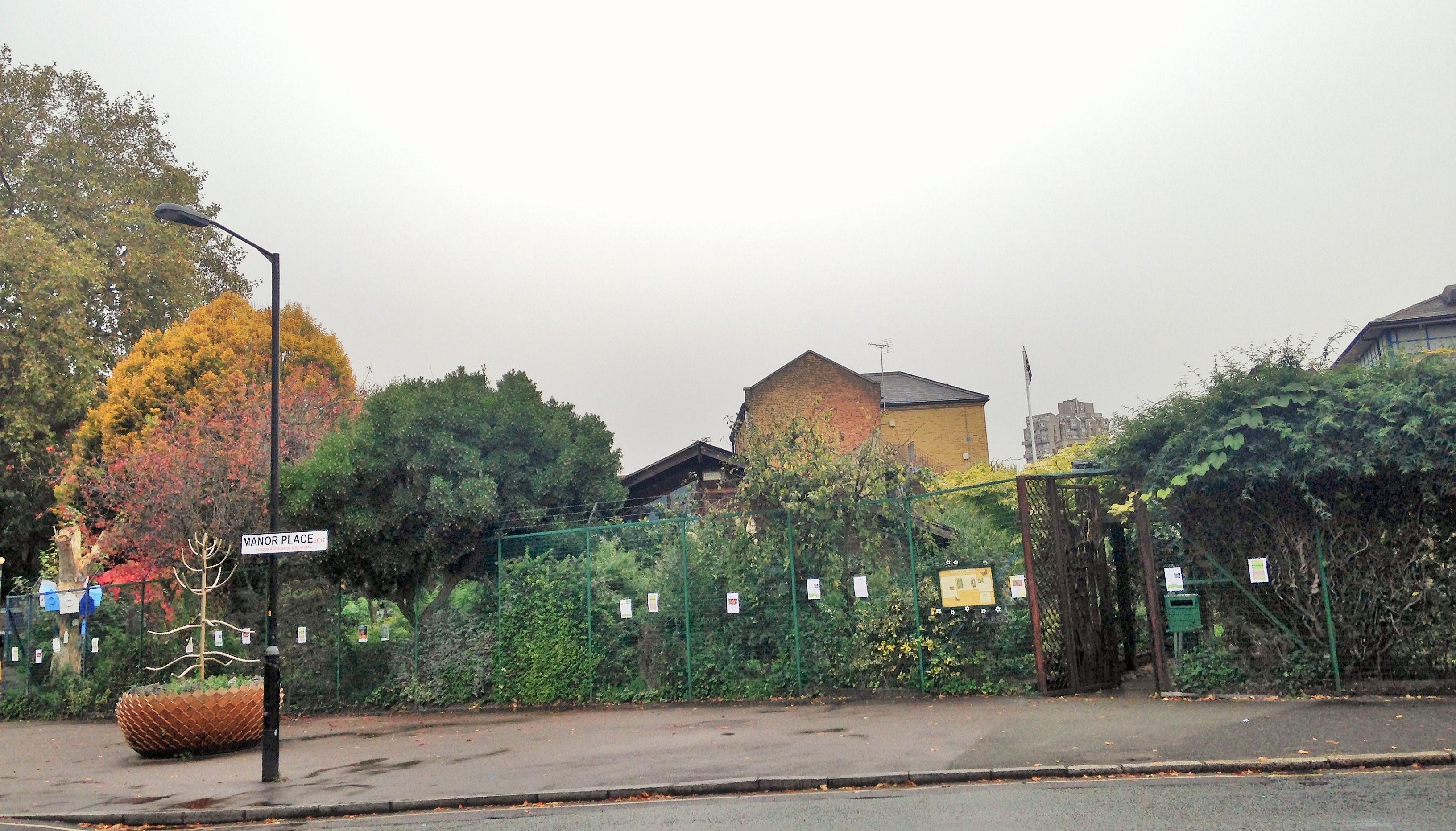 Walworth Garden Farm exterior - kenningtonrunoff.com