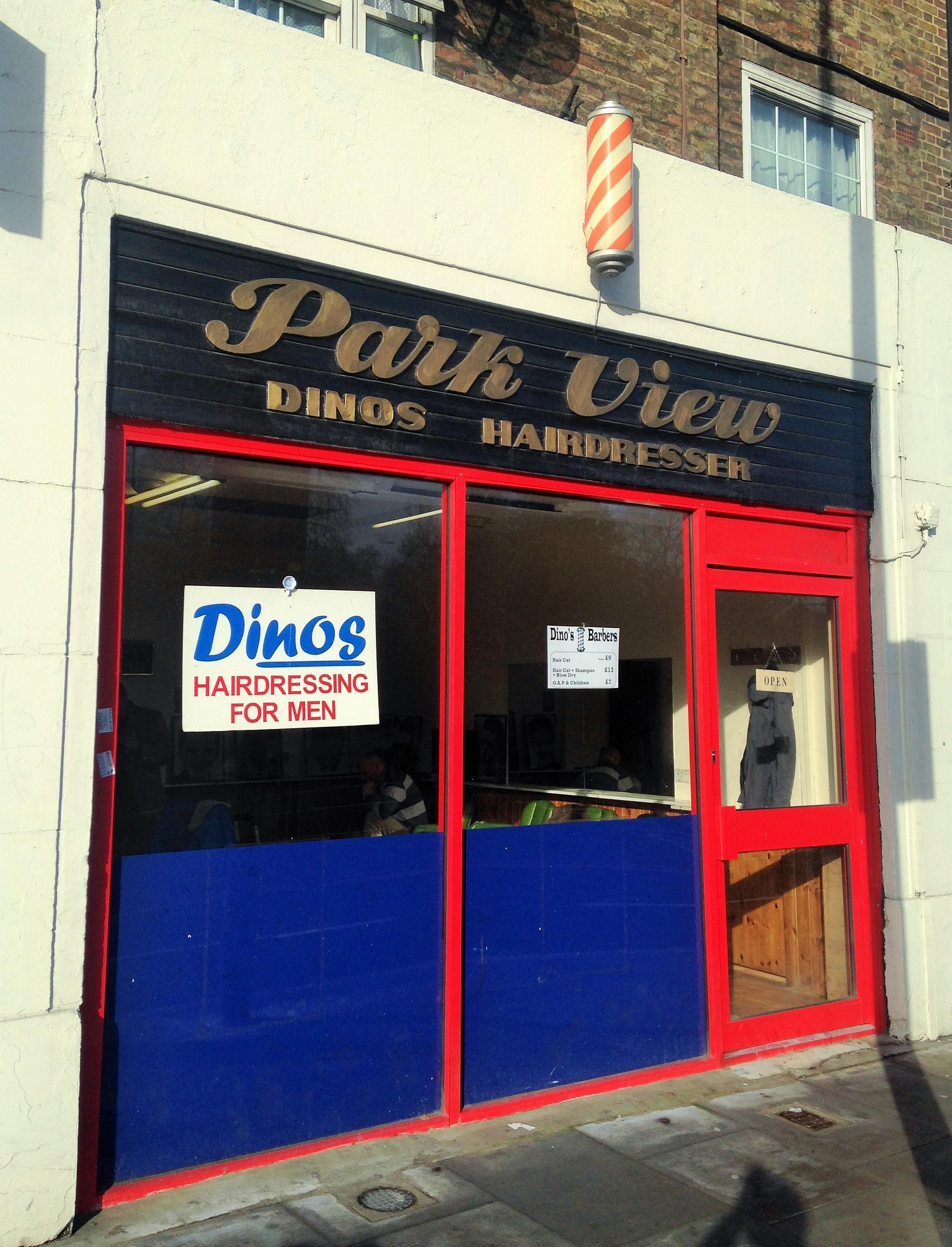 Dino's hairdresser Park view - kenningtonrunoff.com