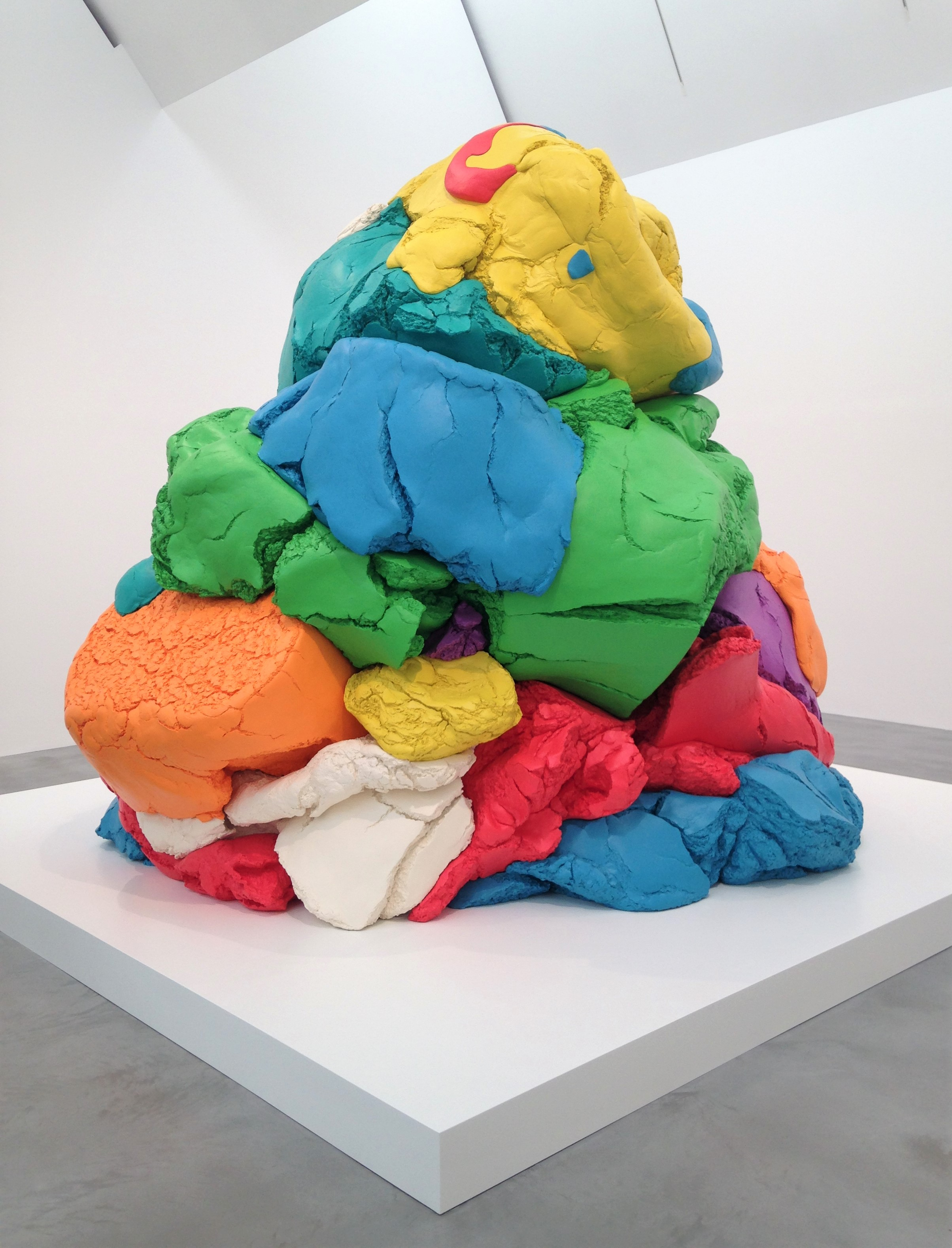 Play-Doh - Jeff Koons Now at Newport Street Gallery - kenningtonrunoff@gmail.com