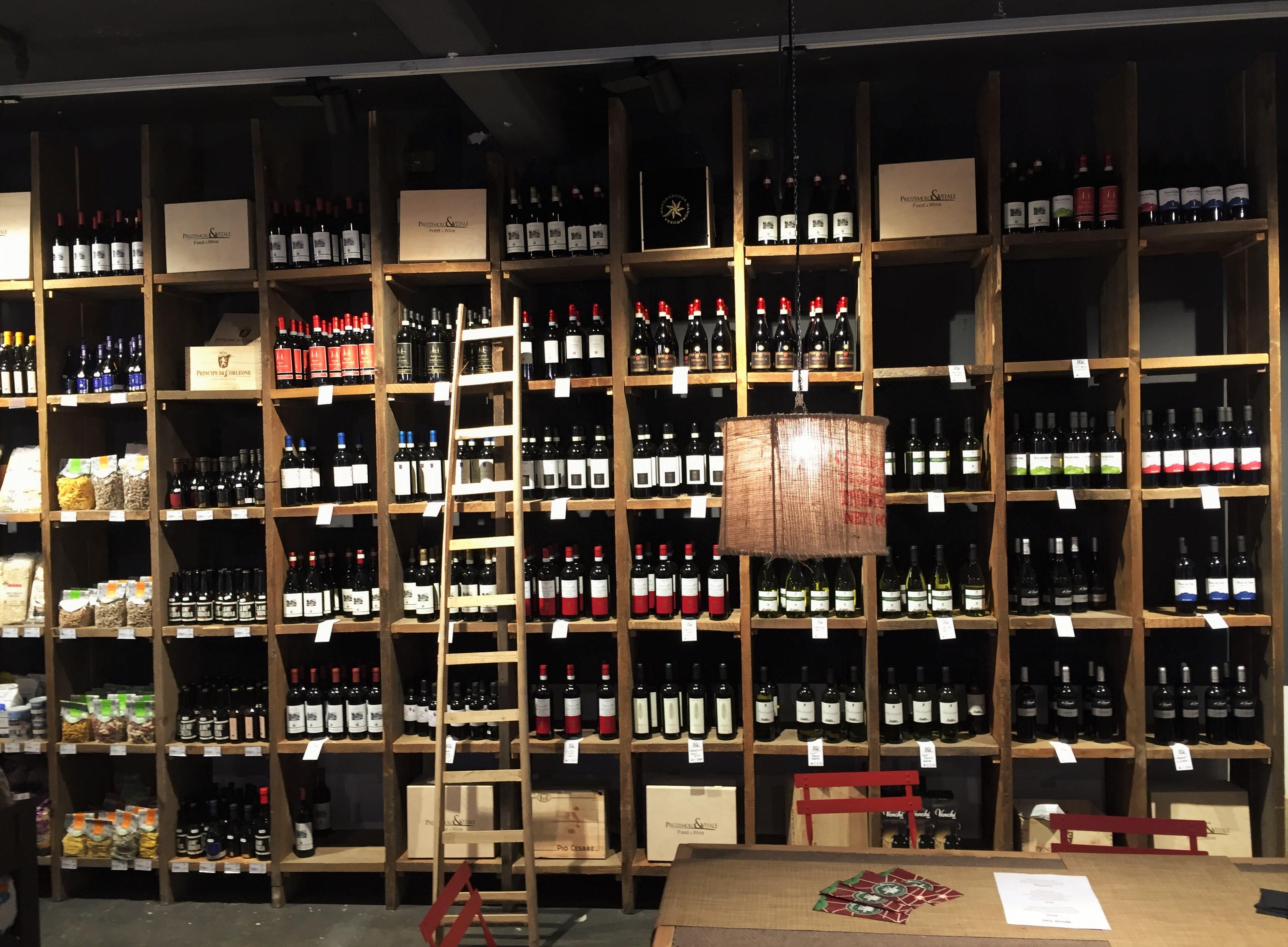 Mercato Metropolitano wines - kenningtonrunoff.com