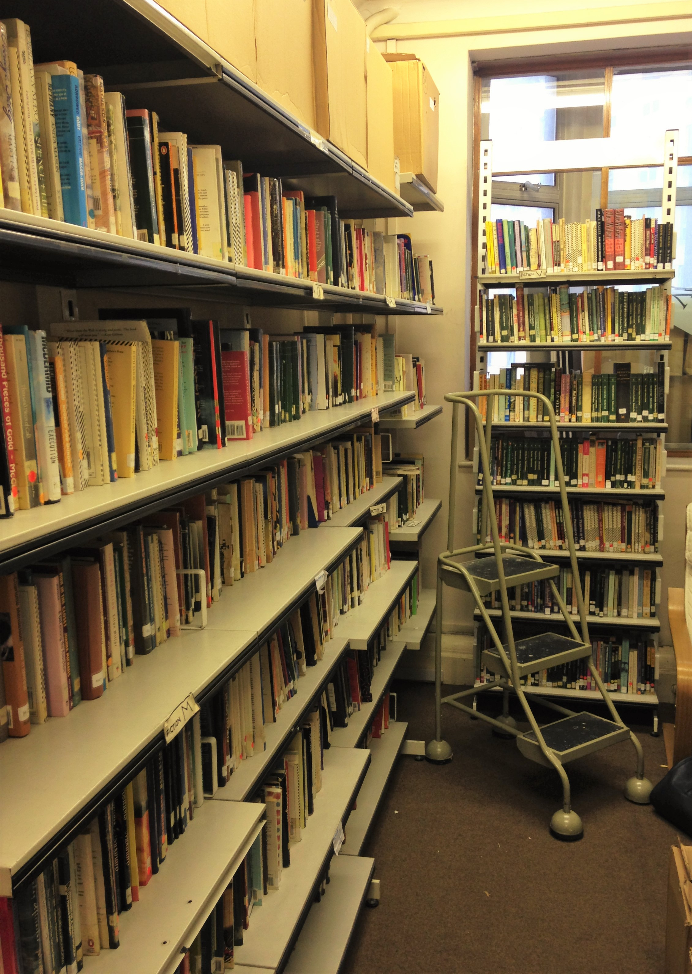 The Feminist Library - shelving - kenningtonrunoff.com